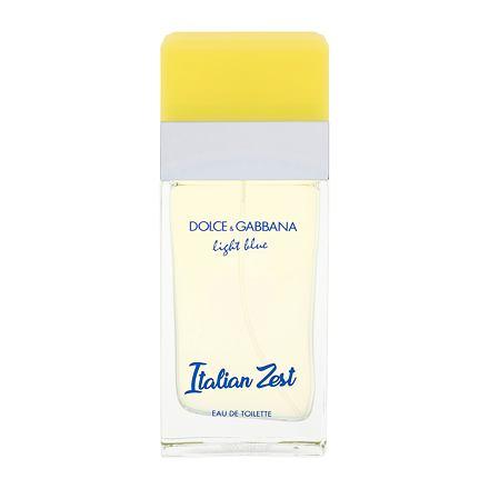 Dolce&Gabbana Light Blue Italian Zest toaletní voda 50 ml pro ženy