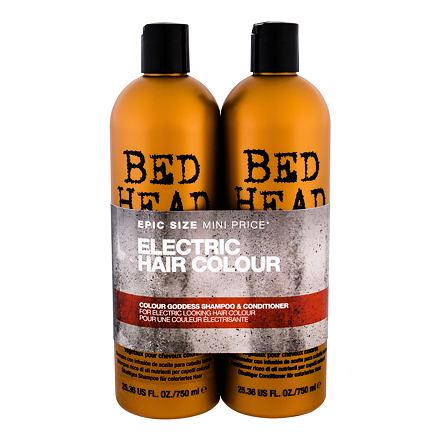 Tigi Bed Head Colour Goddess sada šampon 750 ml + kondicionér 750 ml pro ženy