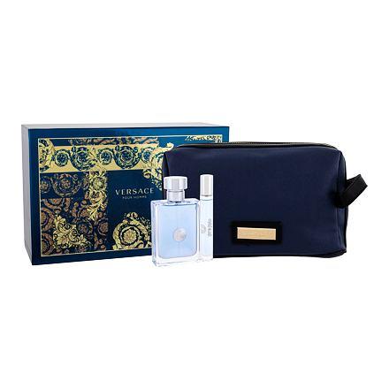 Versace Pour Homme sada toaletní voda 100 ml + toaletní voda 10 ml +  kosmetická taška acc7c95c4fb