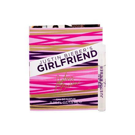Justin Bieber Girlfriend parfémovaná voda 1,5 ml pro ženy