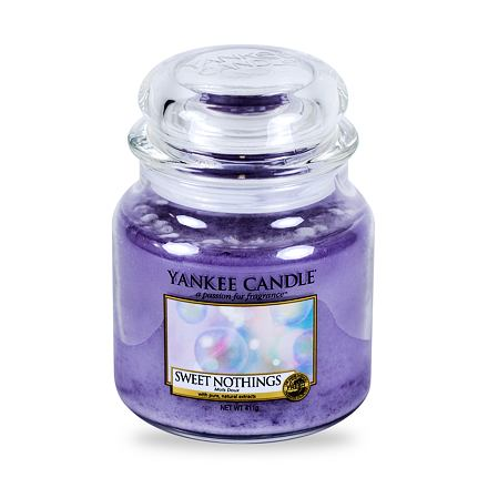 Yankee Candle Sweet Nothings vonná svíčka