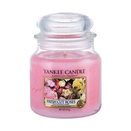 Yankee Candle Fresh Cut Roses vonná svíčka