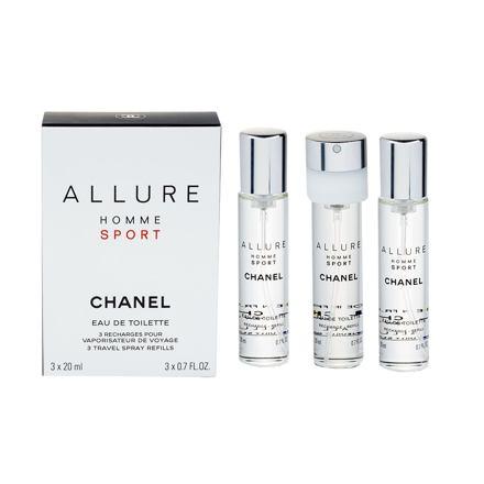 Chanel Allure Homme Sport toaletní voda náplň 20 ml pro muže