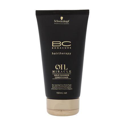 Schwarzkopf BC Bonacure Oil Miracle Gold Shimmer kondicionér pro husté vlasy  150 ml pro ženy 536c03262bc
