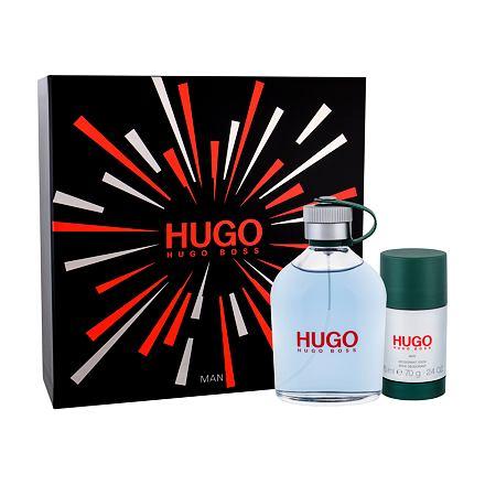 HUGO BOSS Hugo Man sada toaletní voda 200 ml + deostick 75 ml pro muže