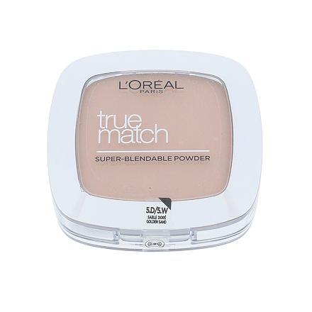 L´Oréal Paris True Match jemný pudr pro přirozený vzhled odstín D5-W5 Golden Sand pro ženy