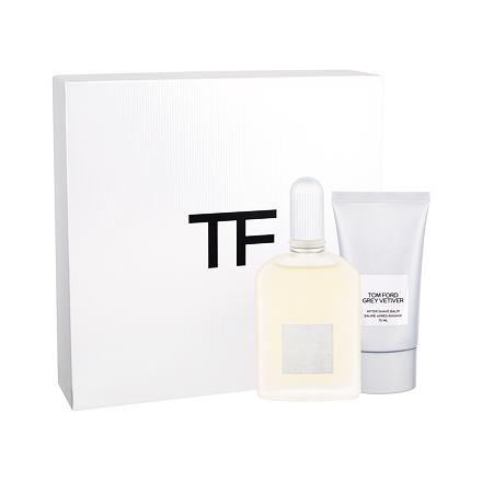 TOM FORD Grey Vetiver sada parfémovaná voda 50 ml + balzám po holení 75 ml pro muže