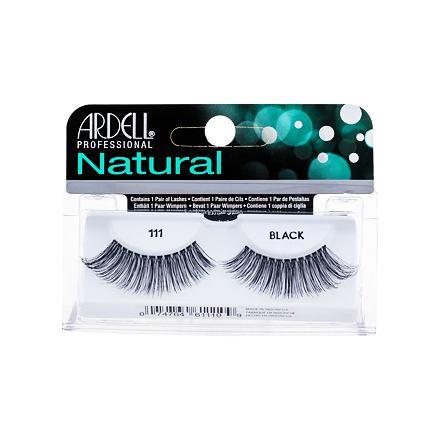 Ardell Natural 111 nalepovací řasy 1 ks odstín Black pro ženy