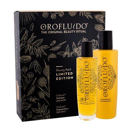 Orofluido Beauty Elixir sada tekuté zlato Elixir 100 ml + šampon 200 ml pro ženy