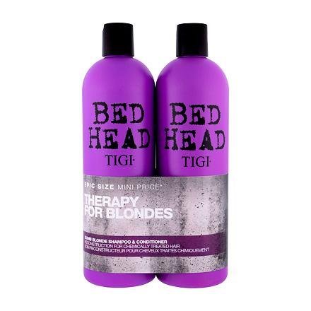 Tigi Bed Head Dumb Blonde sada šampon 750 ml + kondicionér 750 ml pro ženy