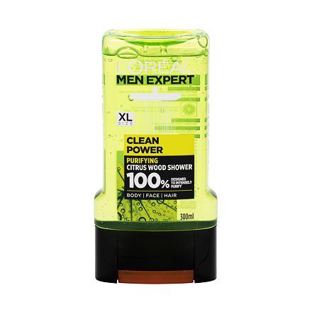 L´Oréal Paris Men Expert Clean Power sprchový gel pro problematickou pokožku pro muže