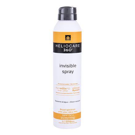 Heliocare 360° Invisible SPF50+ 200 ml ochranný opalovací sprej na tělo