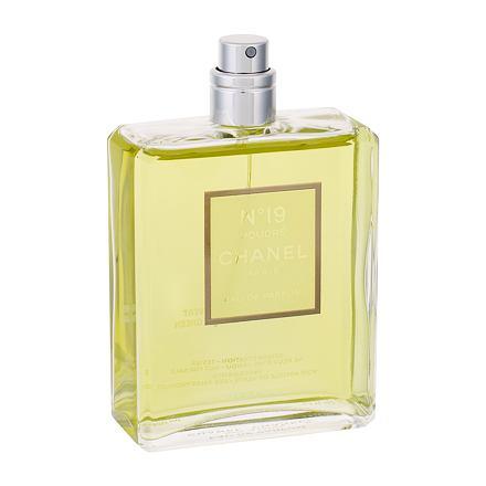 Chanel No. 19 Poudre parfémovaná voda 100 ml Tester pro ženy