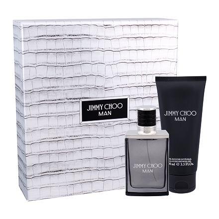 Jimmy Choo Jimmy Choo Man sada toaletní voda 50 ml + sprchový gel 100 ml pro muže