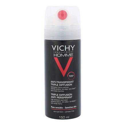 Vichy Homme Triple Diffusion antiperspirant bez alkoholu pro muže