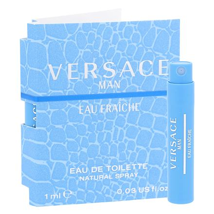Versace Man Eau Fraiche toaletní voda 1 ml pro muže