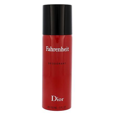 Christian Dior Fahrenheit deospray bez obsahu hliníku 150 ml pro muže