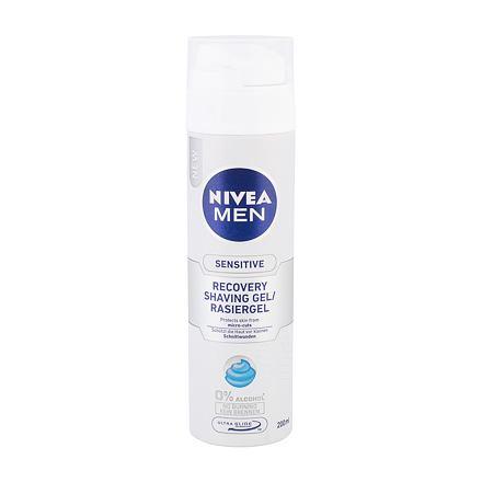 Nivea Men Sensitive Recovery gel na holení bez alkoholu pro muže