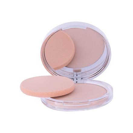 Clinique Stay-Matte Sheer Pressed Powder matující kompaktní pudr odstín 01 Stay Buff