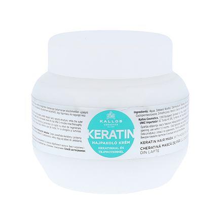 Kallos Cosmetics Keratin regenerační maska na vlasy s keratinem 275 ml pro ženy