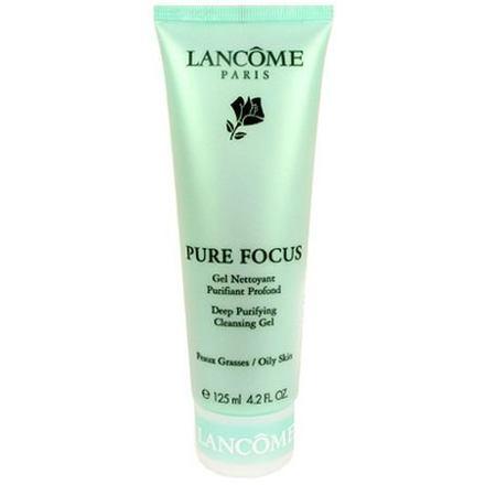Lancôme Gel Pure Focus čisticí gel na mastnou pleť 125 ml pro ženy