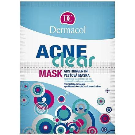 Dermacol AcneClear pleťová maska na problematickou pleť 16 g pro ženy