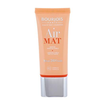 BOURJOIS Paris Air Mat SPF10 make-up odstín 02 Vanilla
