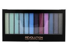 Oční stín Makeup Revolution London Redemption Palette Mermaids Vs Unicorns