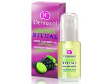 Masážní přípravek Dermacol Aroma Ritual Stress Relief Body Oil Grape & Lime 50 ml