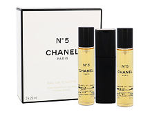 Toaletní voda Chanel No.5 Twist and Spray 3x 20 ml 20 ml