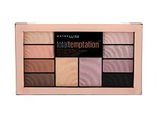 Oční stín Maybelline Total Temptation Shadow + Highlight 12 g