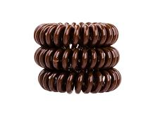 Gumička na vlasy Invisibobble The Traceless Hair Ring 3 ks Pretzel Brown