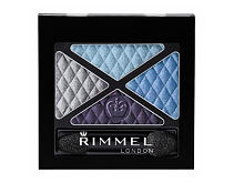 Oční stín Rimmel London Glam Eyes Quad 4,2 g 001 Smokey Noir