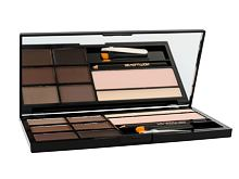 Úprava obočí Makeup Revolution London Ultra Brow Palette 18,98 g Medium To Dark
