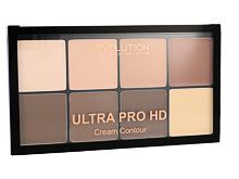 Pudr Makeup Revolution London Ultra Pro HD Cream Contour Palette