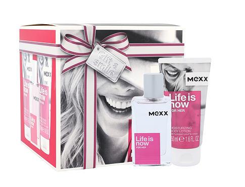 Mexx Life Is Now For Her EDT EDT 30 ml + tělové mléko 2x50 ml pro ženy