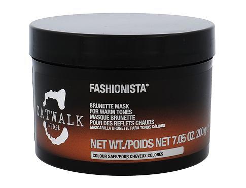 Tigi Catwalk Fashionista Brunette maska na vlasy 200 g pro ženy