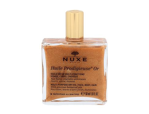 Tělový olej NUXE Huile Prodigieuse Or Multi Purpose Dry Oil Face, Body, Hair 50 ml