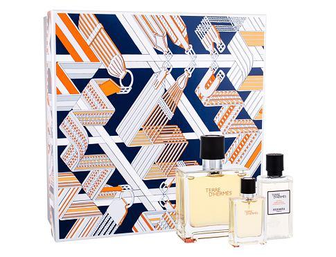 Hermes Terre D´Hermes EDP parfém 75 ml + voda po holení 40 ml + parfém 12,5 ml pro muže
