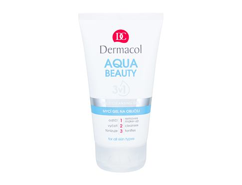Čisticí gel Dermacol Aqua Beauty 150 ml