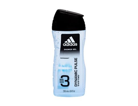 Sprchový gel Adidas Dynamic Pulse 3in1 250 ml