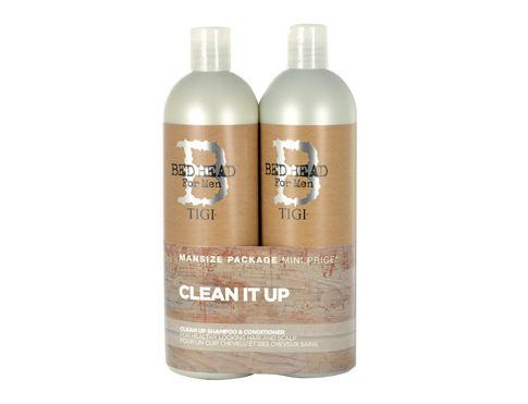Tigi Bed Head Men Clean Up šampon šampon 750 ml + kondicionér 750 ml pro muže