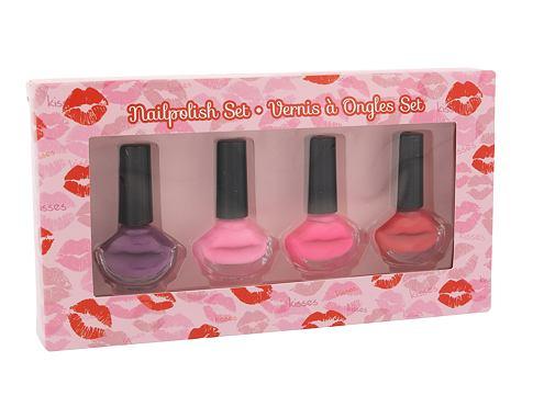 2K Nails With A Kiss lak na nehty lak na nehty 4x 6 ml pro ženy
