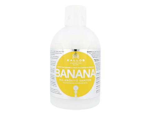 Šampon Kallos Cosmetics Banana 1000 ml