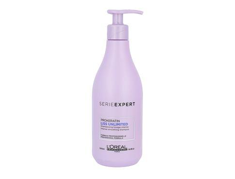 L´Oréal Professionnel Série Expert Liss Unlimited šampon 500 ml pro ženy