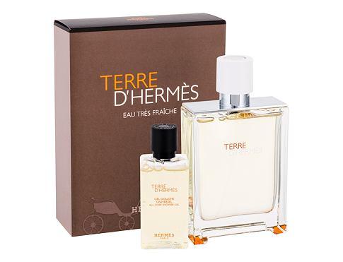 Hermes Terre D´Hermés Eau Tres Fraiche EDT EDT 75 ml + sprchový gel 40 ml pro muže