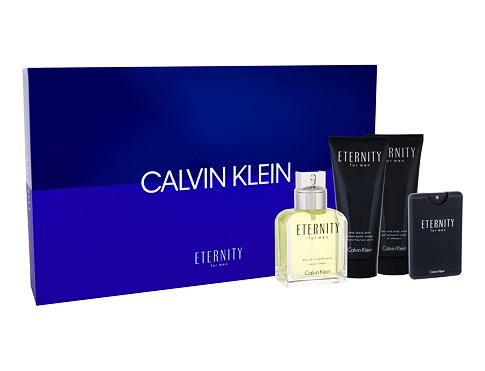 Calvin Klein Eternity EDT EDT 100 ml + EDT 20 ml + balzám po holení 100 ml + sprchový gel 100 ml pro muže