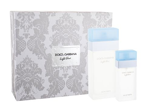 Dolce&Gabbana Light Blue EDT EDT 100 ml + EDT 25 ml pro ženy