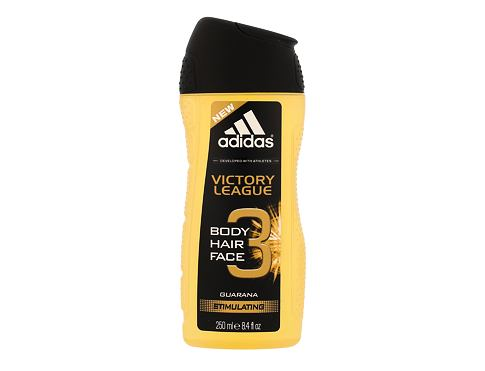Adidas Victory League 3in1 sprchový gel 250 ml pro muže