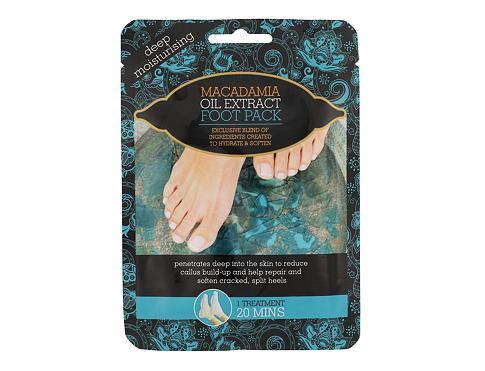 Xpel Macadamia Oil Extract Foot Pack krém na nohy 1 ks pro ženy